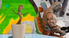 Dancing Baby Groot Stop Motion: Guardians of the Galaxy