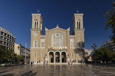 Freshly renovated - Metropolitan Cathedral of Athens, Attica, Greece