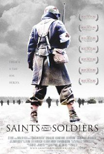 Saints and Soldiers (2003). Nice little flick. With snow. War movie; children might find it distressing.
