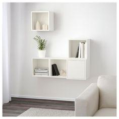 IKEA - EKET Wall-mounted cabinet combination white