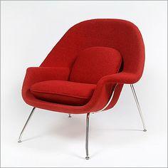 Saarinen: Womb Chair Reproduction - ModernClassics.com