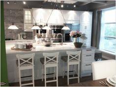 Ikea showroom kitchen Ikea Kitchen, Kitchen And Bath, Kitchen Dining, Kitchen Decor, Kitchen Cabinets, Kitchen Ideas, Dining Room, Ikea Showroom, Kitchen Showroom