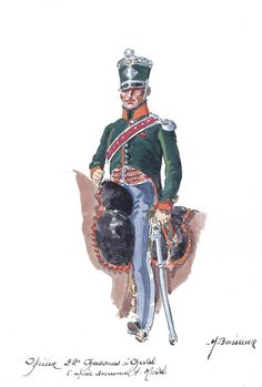 French; 22nd Chasseurs a Cheval, Officer