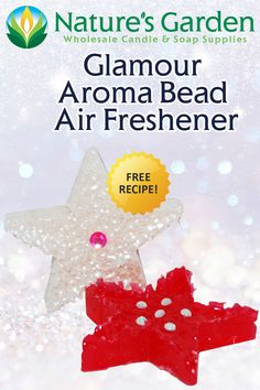 Free Glamour Aroma Bead Air Freshener Recipe by Natures Garden.