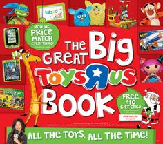 Toys R Us announces launch of Great Big Toys R Us Book