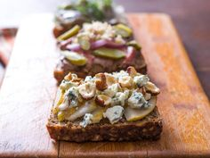 Meet Smørrebrød, the Best Sandwich You're Not Eating - Lined up in café windows, served in specialty restaurants, and packed into their very own lunch bo - Best Sandwich, Sandwich Recipes, Lunch Recipes, Nordic Diet, Sandwiches, Hygge, Open Faced Sandwich, Scandinavian Food, Whats For Lunch