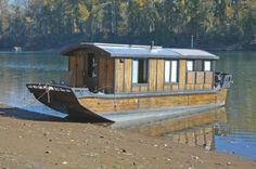 Started in 2009, the Recurring Dream is a hand-built cruising houseboat, created as an independent dwelling for my small family. When finished, it will have solar power, rainwater collection and filtration, passive solar heat, and wind/current propulsion to enhance the typical outboard.  It is a...