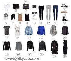 How To Build A Capsule Wardrobe #Fashion #Musely #Tip