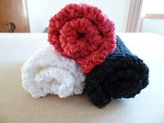 CLOSING SHOP SALE  Crocheted Cotton Dish Cloth Set by ACozyCrochet, $9.00