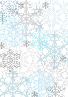 Another seasonable freebie, Just a couple of papers one snowflake pattern and my favourite itty bitty stars as an outline , great as accent papers for the December daily or Journal your Christmas p… #scrapbookprintables