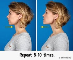 7 Most Effective Exercises to Get Rid of a Double Chin I'm going to try them right now. Exercises to get rid of an underchin!I'm going to try them right now. Exercises to get rid of an underchin! Yoga Facial, Facial Muscles, Fitness Workouts, Exercise Workouts, Double Chin Exercises, Face Exercises, Facial Muscle Exercises, Jawline, Eat Right