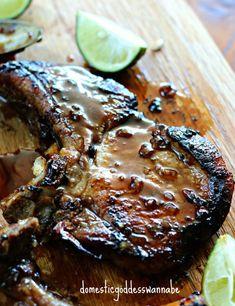 Pan-Fried Vietnamese Pork Chops