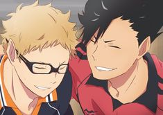 Was so freaking sad when nekoma lost (LIKE i mean we all know karsuno will probably win everything BUT OMG MY POOR KUROO). when nekoma's match against karsuno gets animated. my heart 💔💔💔 Haikyuu Tsukishima, Kuroo Tetsurou, Haikyuu Fanart, Haikyuu Anime, Funny Anime Pics, Cute Anime Guys, Anime Love, M Anime, Kurotsuki