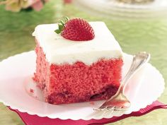 Strawberry Daquiri Cake!