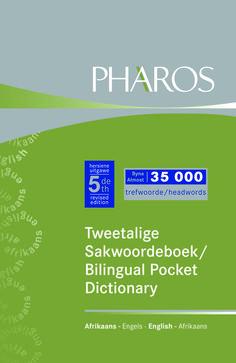 Nuwe Tweetalige Sakwoordeboek Bilingual Pocket Dictionary