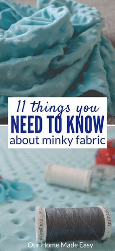 The 11 Things You Need To Know Before Sewing Minky Fabric