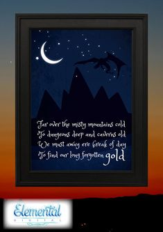 LOTR Lord of the Rings Printable on Etsy!