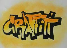 Graffiti na kartce