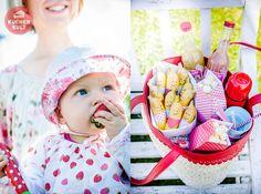 Playdate Snacks Picknickkorb Bananen Gesichter