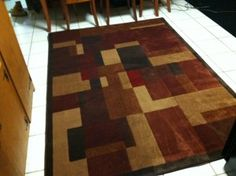 This Mohawk Area rug has transformed my kitchen into a cozy, warm place.