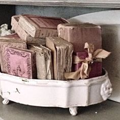 A clever container for a collection of tattered treasures.  ~Splendor