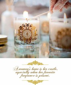 A woman's home is her castle, especially when her favorite fragrance is present. ~Allow Shelley Kyle candles to fill your home with that scent.