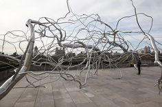 ROXY PAINE  Roxy Paine on the Roof: Maelstrom  The Iris and B. Gerald Cantor Roof Garden  The Metropolitan Museum of Art, New York, NY  April 28 - October 25, 2009  Photo: Sheila Griffin