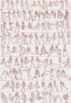 Gesture studies: 97