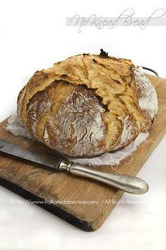 Pane di grano tenero senza impasto