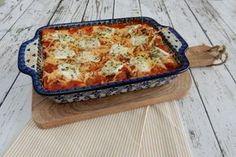 Cannelloni met gehakt, ricotta en spinazie