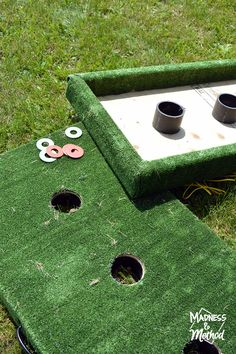 Are you looking for a fun outdoor game DIY this summer? I decided to combine two games into a washer toss game 2 in 1 - and I'm sharing the instructions!