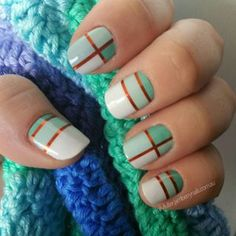 Hopscotch on nails | Jamberry | SHOP ONLINE http://jacquimiller.jamberry.com