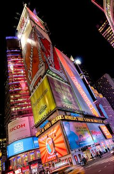 Times Square, New York | by yushimoto_02 [christian], via Flickr