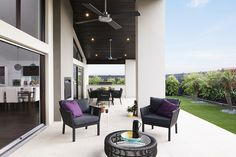 Lovely alfresco in the Costa Rica Outdoor Spaces, Outdoor Decor, Boutique Homes, New Home Designs, Outdoor Entertaining, Costa Rica, House Plans, New Homes, Floor Plans