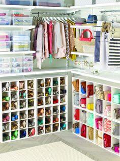 Como guardar e organizar bolsas - Casinha Arrumada