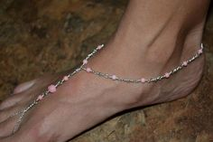 Foot Jewelry Soless Sandals and Beach Ware by NellsJewelryBox, $37.99