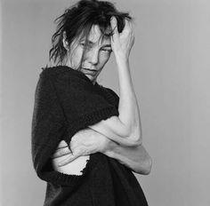 Jane Birkin in Martin Margiela shot by Fred Jacobs Serge Gainsbourg, Jane Birkin, Martin Margiela, Celebrities, Beauty, Style, Peeps, Magic, My Dream House