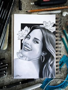 Isn't your favorite celebrity? Go to the link and maybe I had drawn yours. Draw Your, Your Favorite, Celebrity, Portraits, Link, Art, Art Background, Head Shots, Kunst