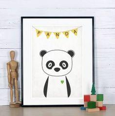 Shopping #panda sur ptitebanane.com #deco #enfant  #kids #kidsroom #kidsberoom