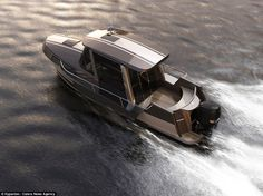 Good things come in small packages: Taiwanese firm Hyperlien has designed a dinky yacht ca...