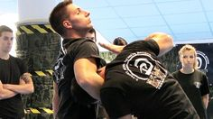 KRAV MAGA TRAINING • How to escape from Guillotine choke  | Mada Krav Maga in Shelby Township, MI teaches realistic hand to hand combat that uses the quickest methods to attack the weakest and most vital targets of both armed and unarmed assailants! Visit our website www.madakravmaga.com or call (586) 745-1171 for more details!