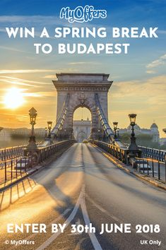Enter free holiday competitions at MyOffers and win a holiday, weekend breaks, a romantic getaway or other exciting travel prizes online! Win A Holiday, Holiday Travel, Holiday Competitions, Gothic Revival Architecture, Danube River, Weekend Breaks, Beaches In The World, Romantic Getaway, Eastern Europe