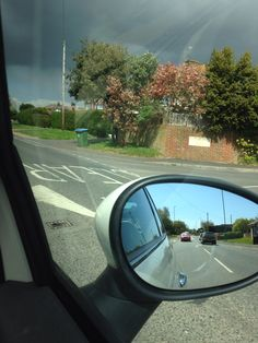 Contrasting weather eastergate Car Mirror, Nature Photos, Weather, Sky, Heaven, Heavens, Weather Crafts