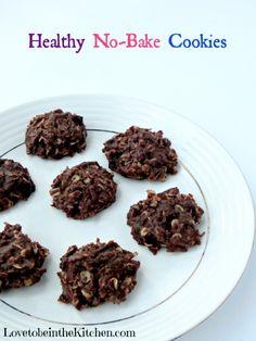 Healthy No-Bake Cookies