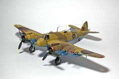"Bristol Beaufighter ""Whispering Death of Malta""   unknown scale"