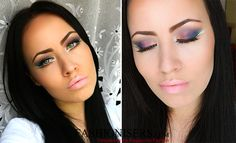 Party Makeup: Bird of Paradise Eye Makeup Tutorial - Fashion Trends, Makeup Tutorials, Hairstyles and Style Secrets