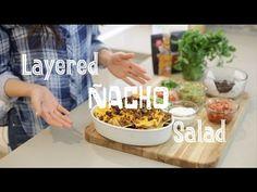 Layered Nacho Salad by Daniella Monet