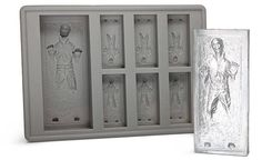 Han Solo in carbonite ice molds. Yes, please.