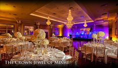 The Coral Gables Country Club | Miami Wedding Venue #Florida Wedding Venues #Florida Bride #Wedding Venue