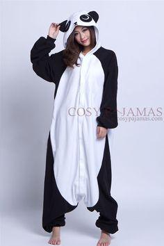 Animal Costume Panda Adult Onesie Kigurumi Pajamas Pyjamas, Cozy Pajamas, Onesie Pajamas, Pajamas For Teens, Pajamas Women, Satin Pyjama Set, Pajama Set, Kigurumi Panda, Panda Costumes